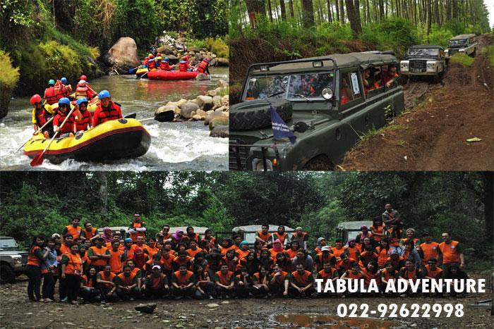 Trip Wisata Off Road Dan Arung Jeram