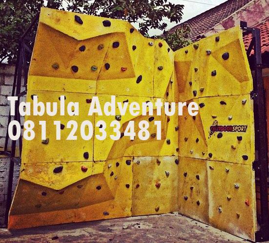 Pembangunan Climbing Wall