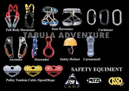 Penjualan Peralatan Panjat Tebing Tabula Adventure