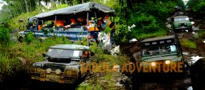 wisata off road land rover